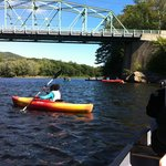 On the Androscoggin river near Gilead, Maine