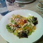 ensalada del restaurante