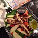 Best insalata fresca salad!!!! I substituted the dressing for oil/vinegar.