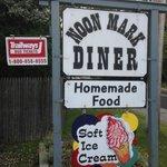 Noon Mark Diner sign