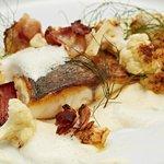 Abendmenü - Fischhauptgang