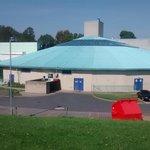 Leisure Centre on edge of park