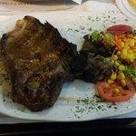 T-bone steak. Delicious!