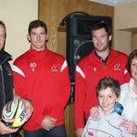 Ulster Rugby Players Drop In