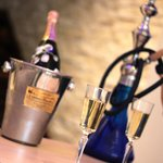 Champagne and Shisha at Rocksalt Ascot