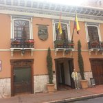 Front of Hotel Santa Lucia