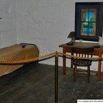 Jail cell of Confederate President Jefferson Davis
