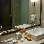 clean and big washroom