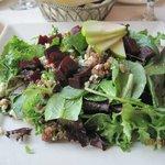The roasted beet salad