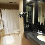 One of two bathrooms in Grand One Bedroom Suite