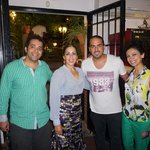 with Flamenco band