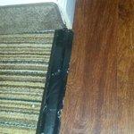 Duct tape threshold