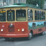 Gatlinburg Trolley on the Parkway