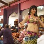 Ahmet's belly dancer