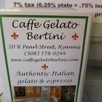Caffe Gelato Bertini