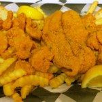 Fried Shrimp & Catfish