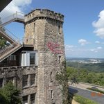 Ruby Falls tower