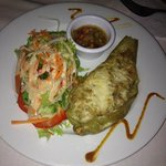 Delicious stuffed christophine