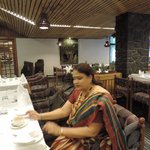 Very nice ambiance with delicious food