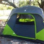tenting on B loop