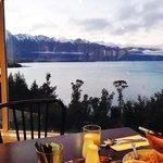 View dari tempat breakfast