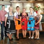 Personal in Tracht