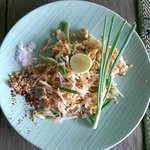 pad thai from cooking class