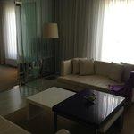 Sofa, living area