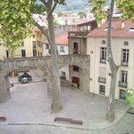 Ceret - Picasso Fountain from Hotel Room