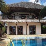 Beautiful beach villas
