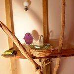 Salle de bain lodge Chrysalide