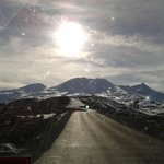 On the way to the Mt Ruapehu