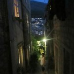 Outside the apartment - Zvijezdiceva St. at night