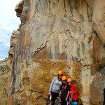 Climbing with Apex and Sarah!