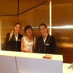 Front desk staff solicitous and warm