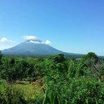 Ausblick auf den Vulkan Conception