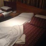 Foam mattress bed