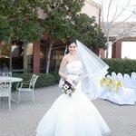 Weddings on our garden patio