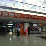Accès AREX, aéroport d'Incheon, Corée du Sud