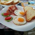 The breakfast / Xenon Inn, photo by Agnieszka MP