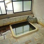 泉質の良い部屋風呂