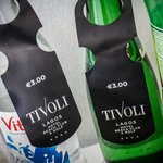 Nothing comes free at the Tivoli... a price tag on everything!