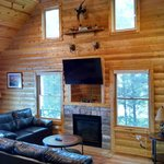 Living Room, cabin 7