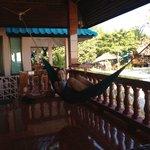 Lazy in my hammock
