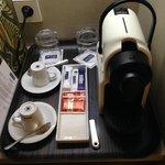 cafetera Nespresso, en 4 noches no nos repusieron el café nunca