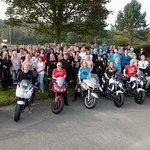 our group, Curvy Riders MCC in the King Malcolm grounds