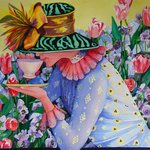 """Tea in the Garden"" by Mary B. Allen"