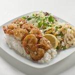Kahuku Garlic Shrimp Plate