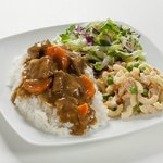 Beef Curry Plate