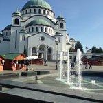 The Church of Saint Sava
